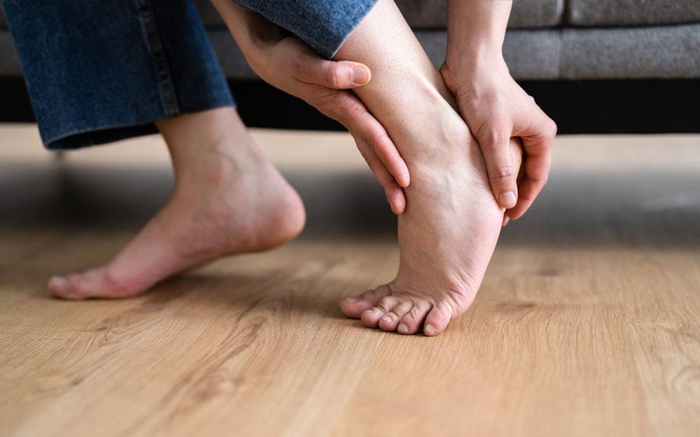 Podotherapie bij voet- en enkelklachten